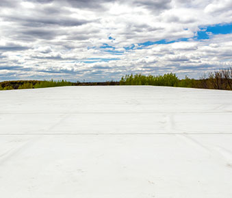 Commercial TPO membrane roofing